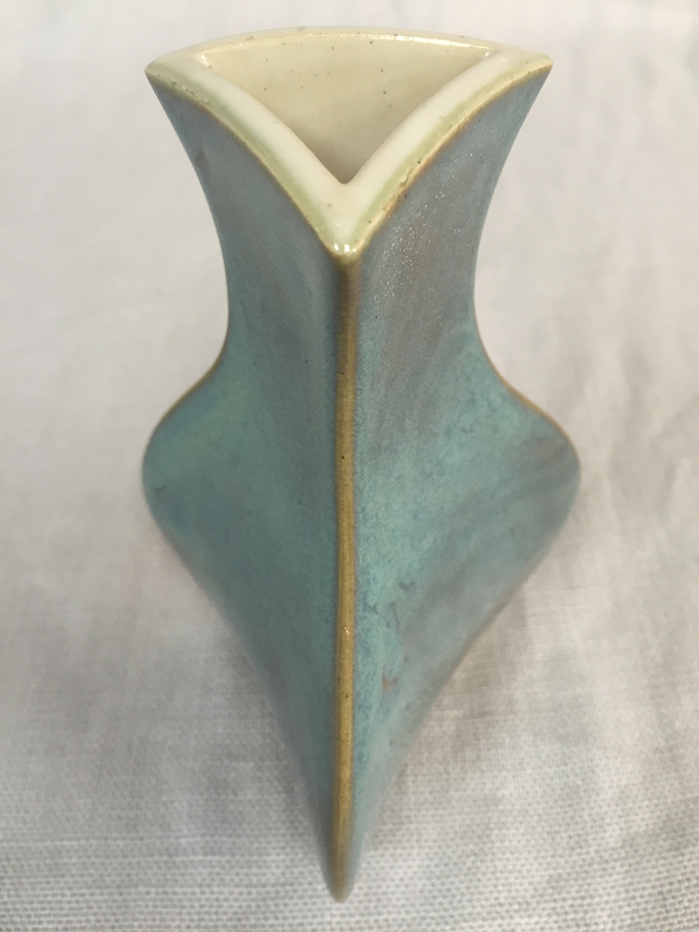 Turquoise Stoneware Detail